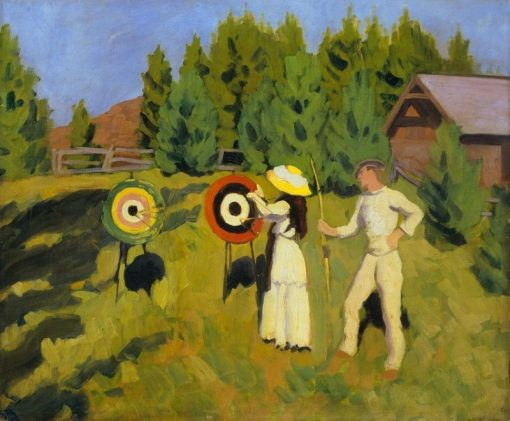 Archers | Karoly Ferenczy | Oil Painting
