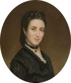 La señora de Creus   Federico de Madrazo y Kuntz   Oil Painting