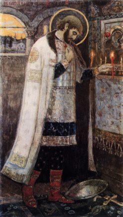 Prince Alexander Nevsky | Mikhail Vasilevich Nesterov | Oil Painting