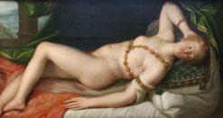Resting Venus | Dirk de Quade van Ravesteyn | Oil Painting