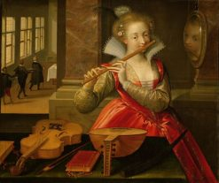 Allegory of Music | Dirk de Quade van Ravesteyn | Oil Painting