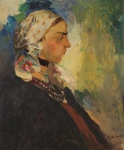 Woman | Filipp Andreevich Maliavin | Oil Painting