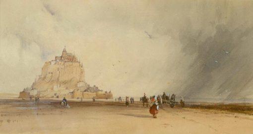 Mont Saint-Michel | Richard Parkes Bonington | Oil Painting