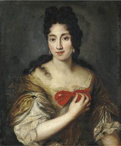Portrait of a Lady | Jacob Ferdinand Voet | Oil Painting