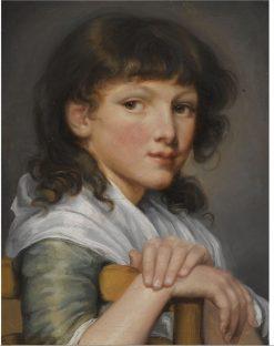 Portrait of a Girl | Jean-Baptiste Greuze | Oil Painting