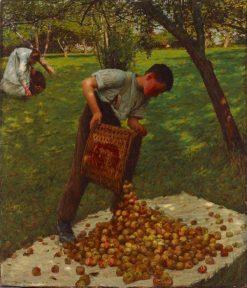 Cyder Apples | Henry Herbert la Thangue | Oil Painting