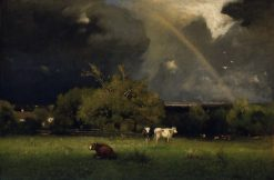 The Rainbow | George Inness | Oil Painting