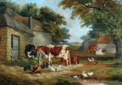 Farmyard | John Frederick Herring
