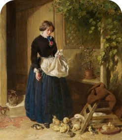 Feeding the Ducks | John Frederick Herring