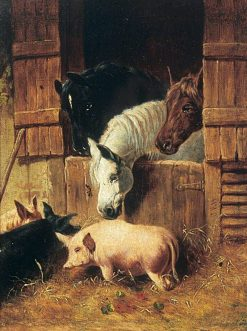 Farmyard Scene | John Frederick Herring