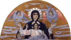 The Virgin   Mikhail Vasilevich Nesterov   Oil Painting