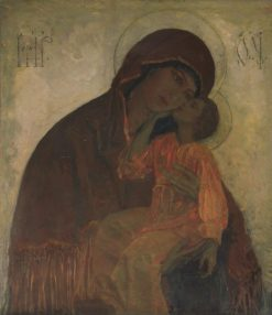 The Virgin | Mikhail Vasilevich Nesterov | Oil Painting