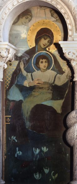 The Virgin and Child | Mikhail Vasilevich Nesterov | Oil Painting