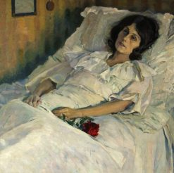 The Sick Girl | Mikhail Vasilevich Nesterov | Oil Painting