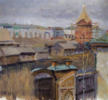 Ufa   Mikhail Vasilevich Nesterov   Oil Painting