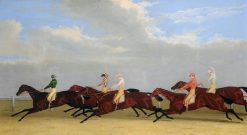 Finish of the 1827 Gold Cup | John Frederick Herring