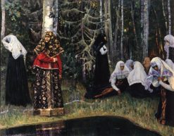In the Woods | Mikhail Vasilevich Nesterov | Oil Painting