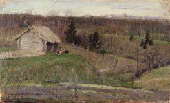 Spring Landscape | Mikhail Vasilevich Nesterov | Oil Painting