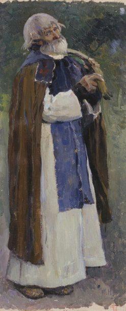 The Hermit | Mikhail Vasilevich Nesterov | Oil Painting