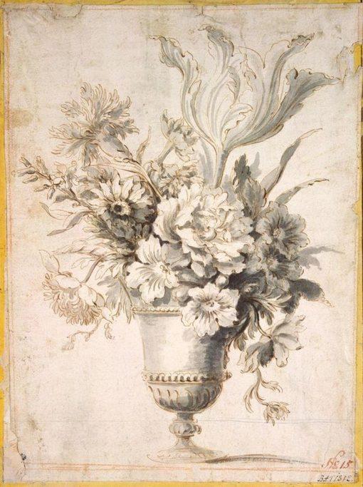 Flowers in a Vase | Jean-Baptiste Monnoyer | Oil Painting