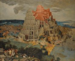 The Tower of Babel | Pieter Brueghel the Younger | Oil Painting