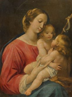 Madonna and Child with Infant St. John the Baptist | Giuseppe Cesari | Oil Painting