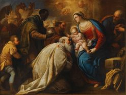 The Adoration of the Magi | Luca Giordano | Oil Painting