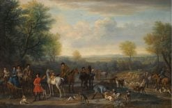 A Hunting Party | John Wootton | Oil Painting