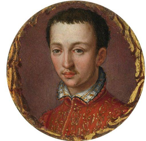 Portrait of Francesco I de Medici | Alessandro Allori | Oil Painting