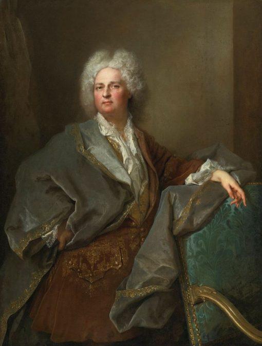 Portrait of Baron de Besenval | Nicolas de Largillière | Oil Painting