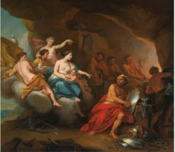 Venus in the Forge of Vulcan | Louis Boullogne the Elder | Oil Painting