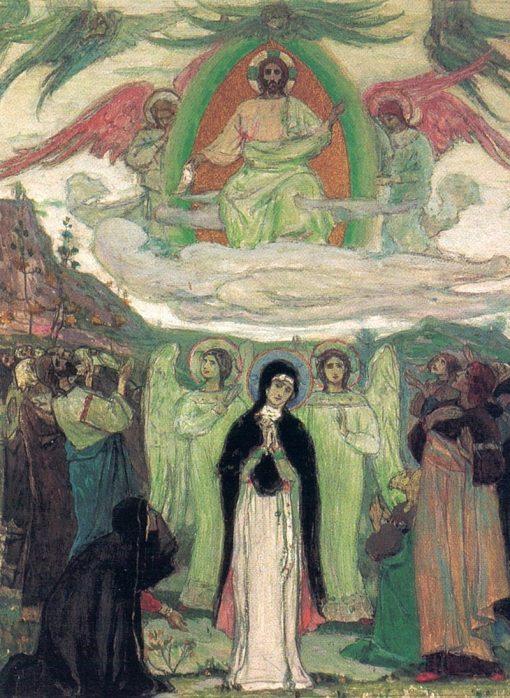 Assumption | Mikhail Vasilevich Nesterov | Oil Painting
