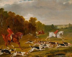 Hounds Leaving Covert | John Frederick Herring