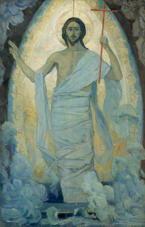 Resurrection | Mikhail Vasilevich Nesterov | Oil Painting