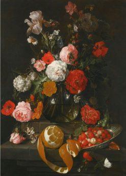 A still-life of roses