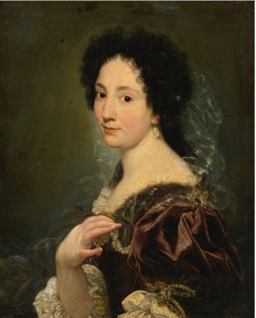 Portrait of a Lady   il Baciccio   Oil Painting