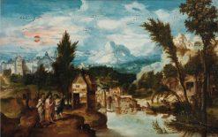 The Journey to Emmaus | Herri met de Bles | Oil Painting