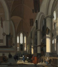 Interior of the Oude Kerk