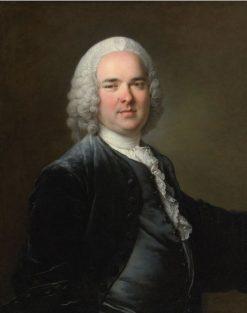 Portrait of a Man | Louis Tocque | Oil Painting