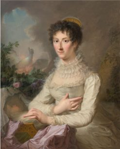 Portrait of a Lady with Her Infant Child   Luis Paret y Alcazar   Oil Painting