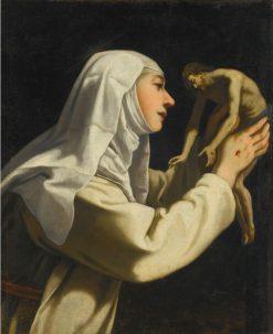 St. Catherine of Siena | Rutilio Manetti | Oil Painting
