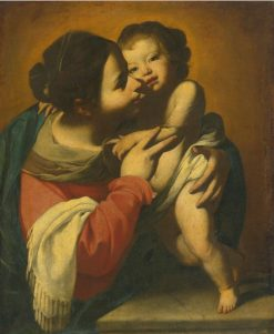 Madonna and Child | Massimo Stanzione | Oil Painting