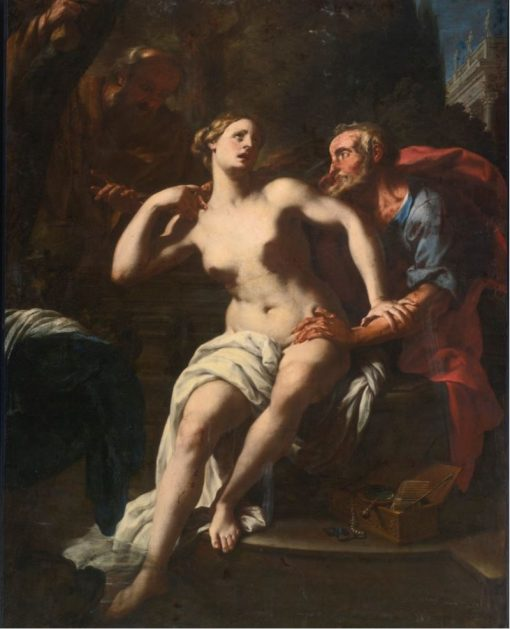 Susannah and the Elders | Francesco Trevisani | Oil Painting