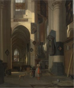 A Church Interior | Emanuel de Witte | Oil Painting