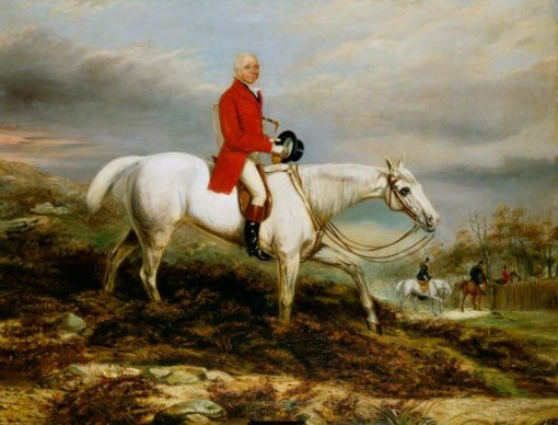 Lord Lonsdale out Hunting   John Frederick Herring