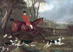 Mr Mure of Herrinswell Hunting | John Frederick Herring
