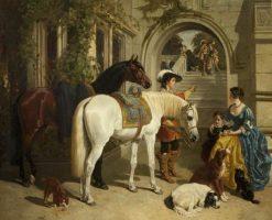 My Ladyes Palfrey | John Frederick Herring