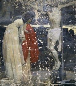 Calvary | Mikhail Vasilevich Nesterov | Oil Painting