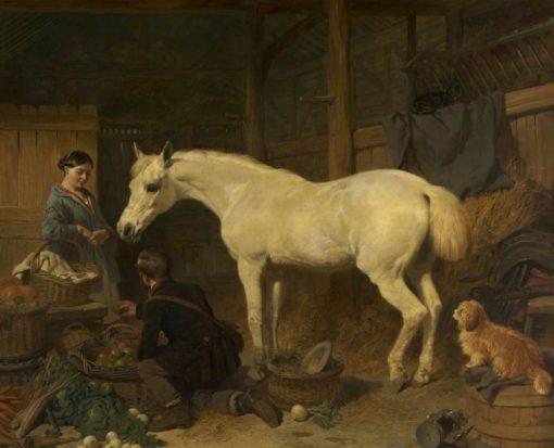 Preparing for Market | John Frederick Herring