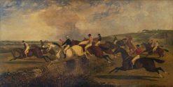 Punchestown Steeplechase | John Frederick Herring